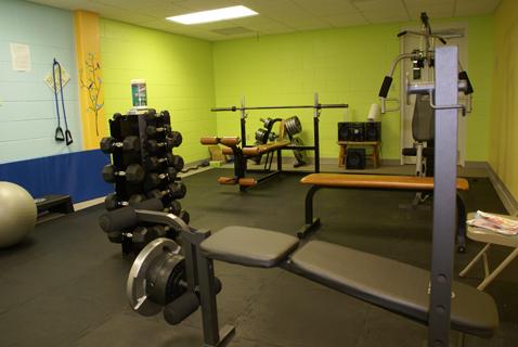 Community Center Inside Gym 2