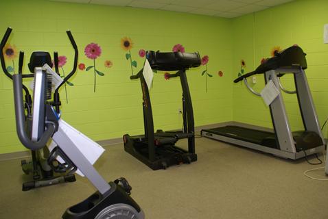 Community Center Inside Gym