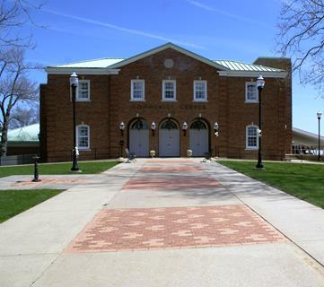 Community Center Outside 3