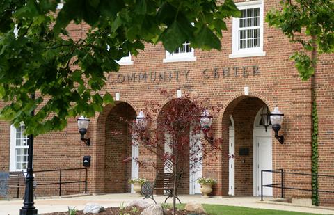 Community Center Outside 2
